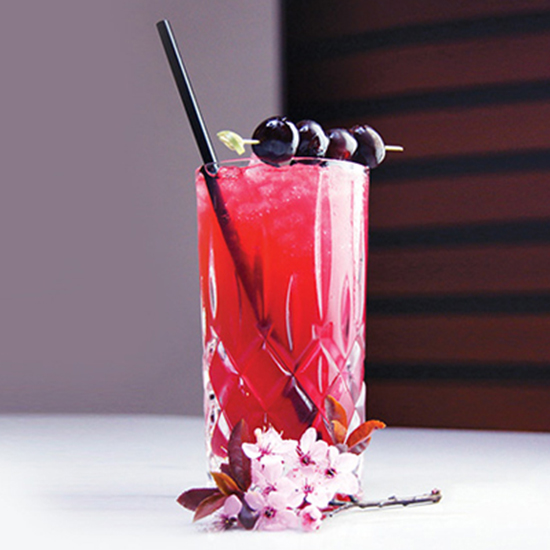 FWX LIQUOR TEA TIME COCKTAILS CHERRY BLOSSOM