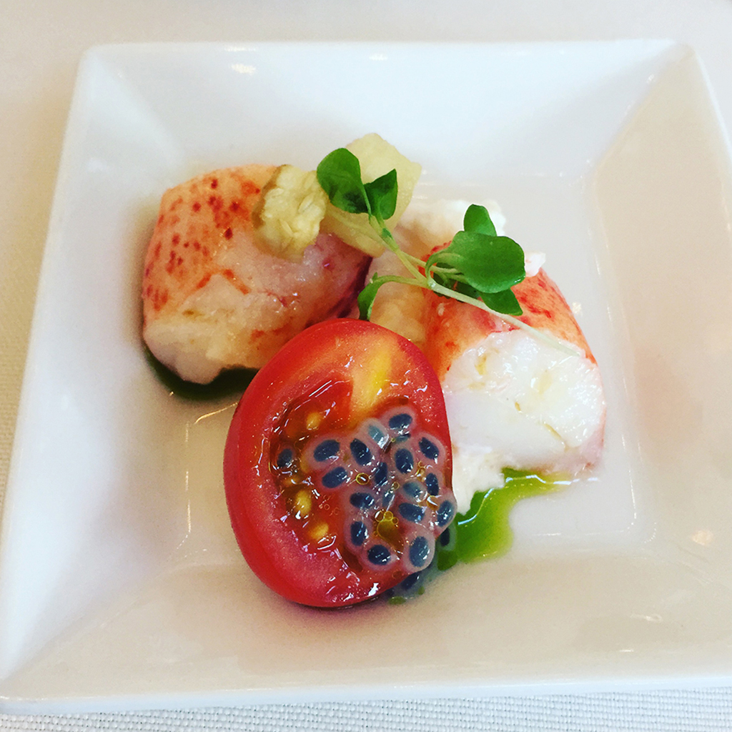 Lobster & Burrata