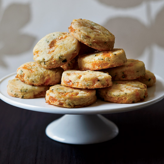FWX MAKE WITH CRICKET FLOUR APRICOT TARRAGON COCKTAIL COOKIES