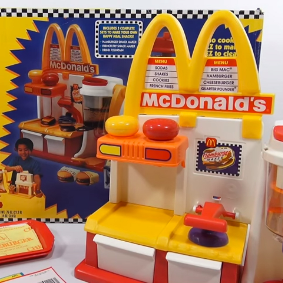 The weird world of mcdonald 39 s edible food playsets food for Cuisine generator