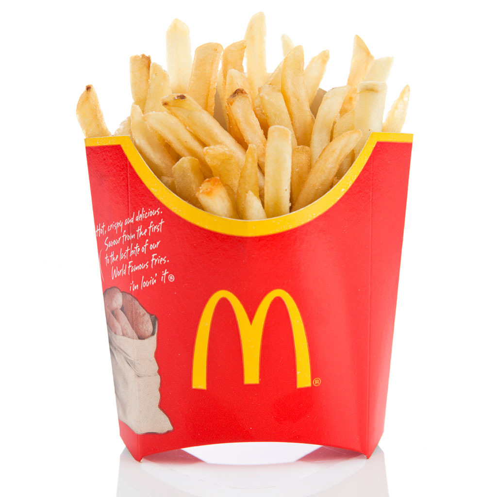 FWX MCDONALDS IMPROVES ITS FRIES