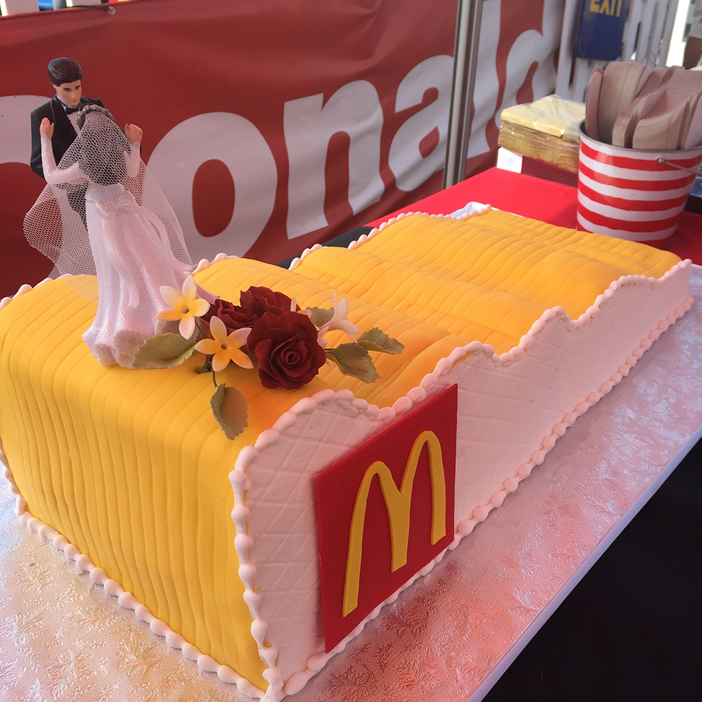 FWX MCDONALDS WEDDING