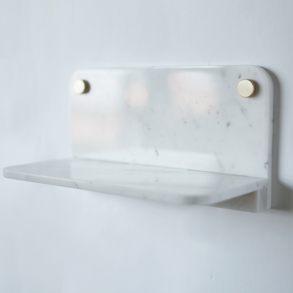 Fort Standard Marble Shelf