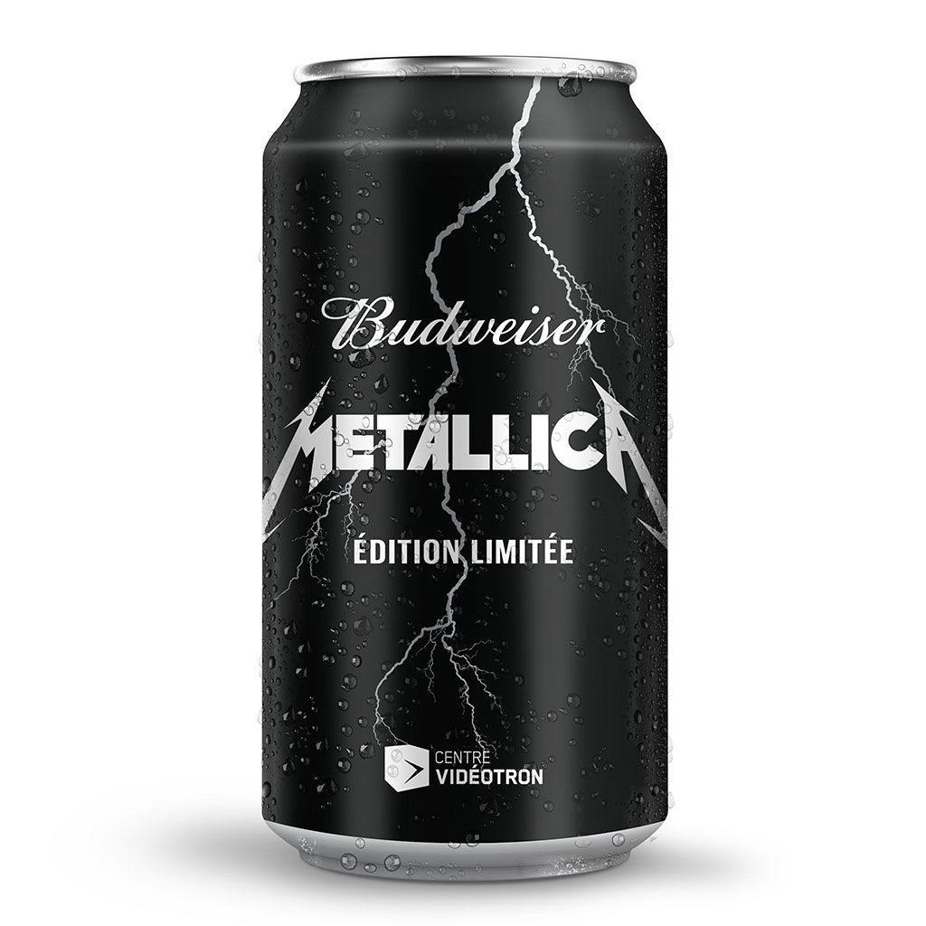 FWX METALLICA BEER CAN