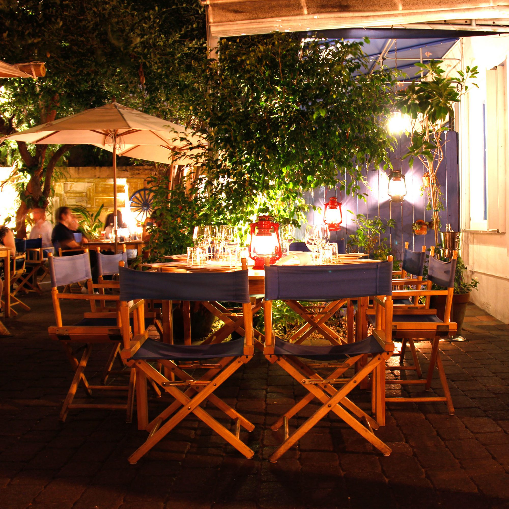 The Courtyard at Mandolin Aegean Bistro