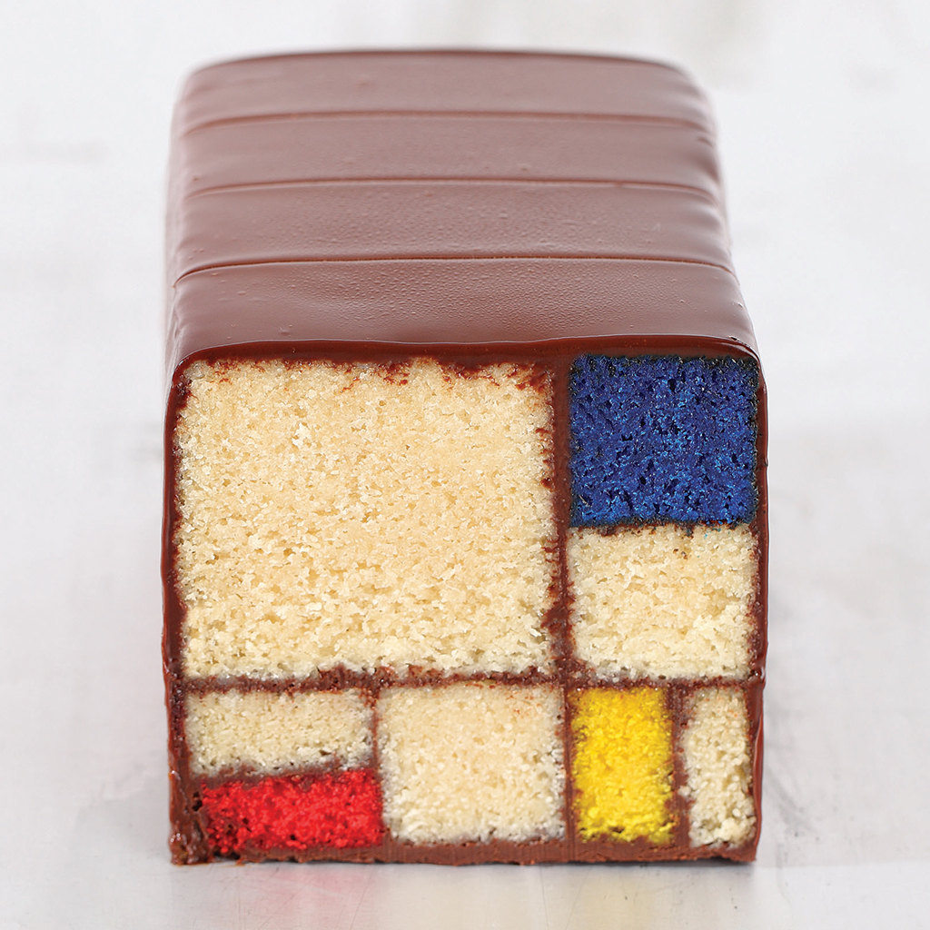 FWX MODERN ART RECIPES MONDRIAN CAKE