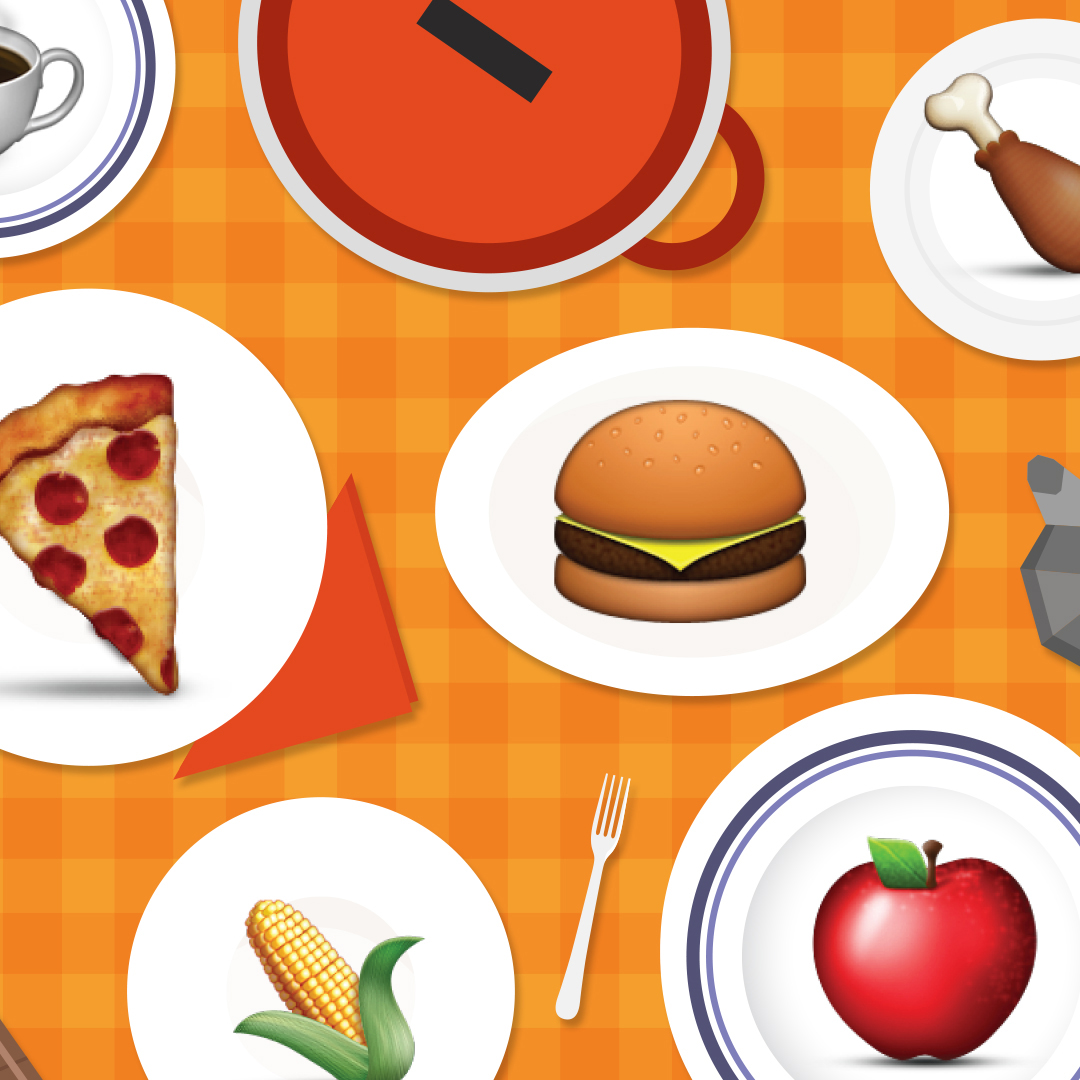 FWX MOST POPULAR FOOD EMOJI IN EACH STATE MAP 1
