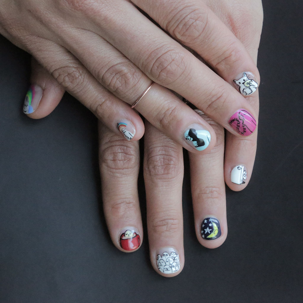 Peace Love And Nail Art Inspired By Artist And Instagram Star