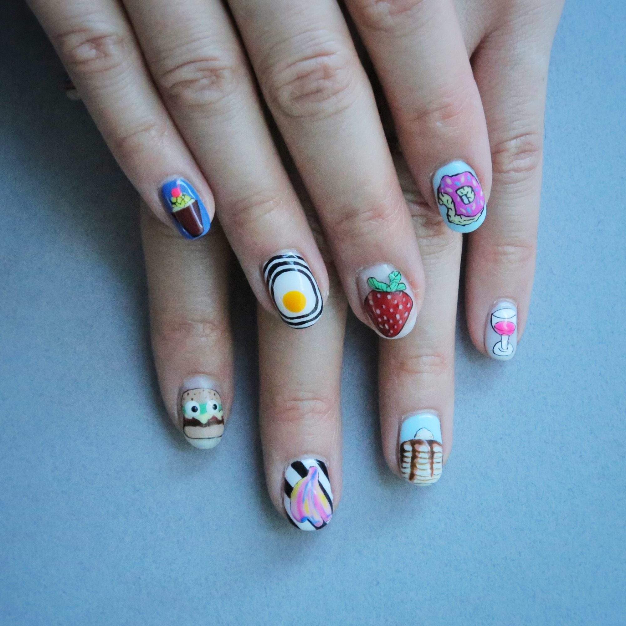 The Best Bright Food Nail Art To Celebrate The First Day Of Spring