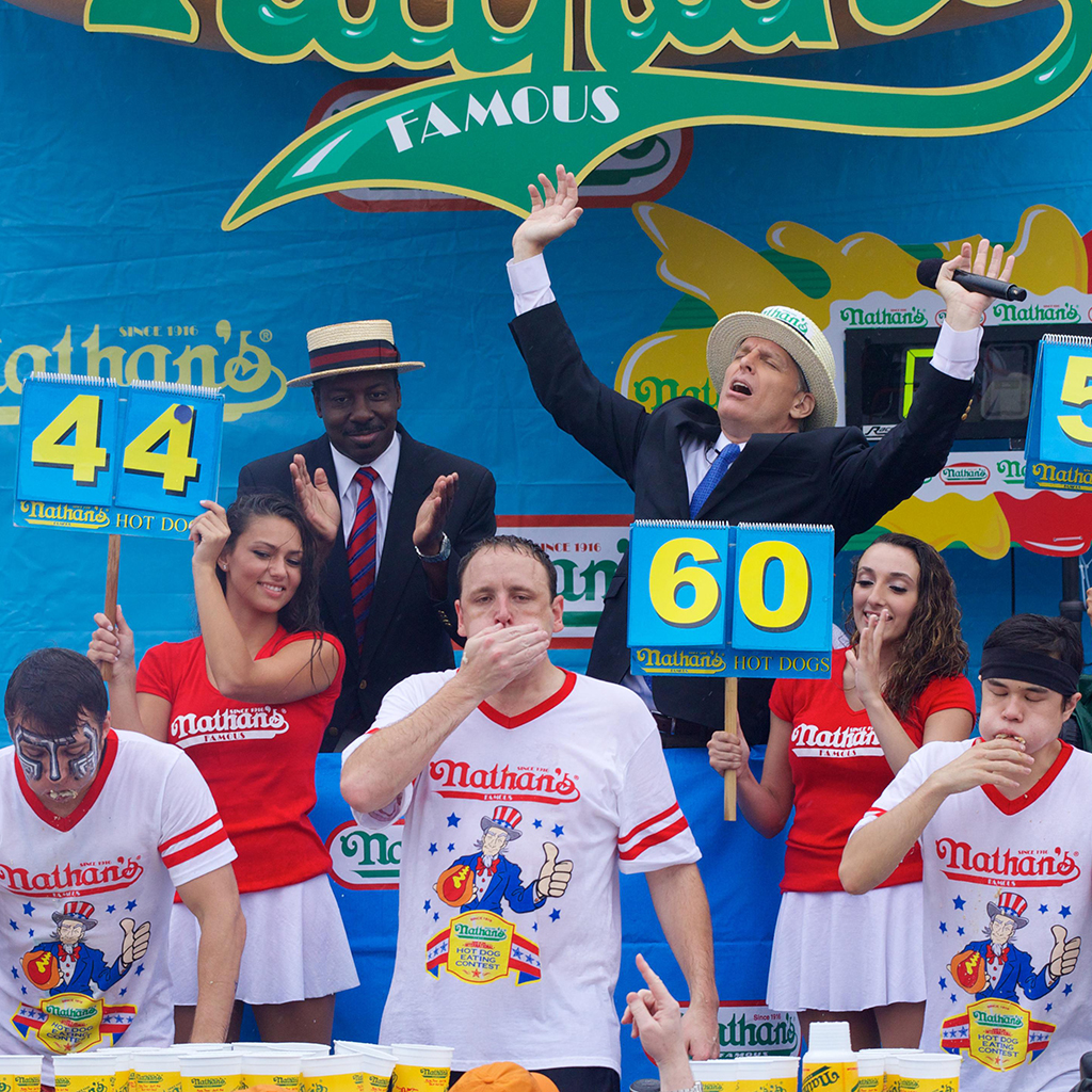 FWX NATHANS HOT DOG COMP