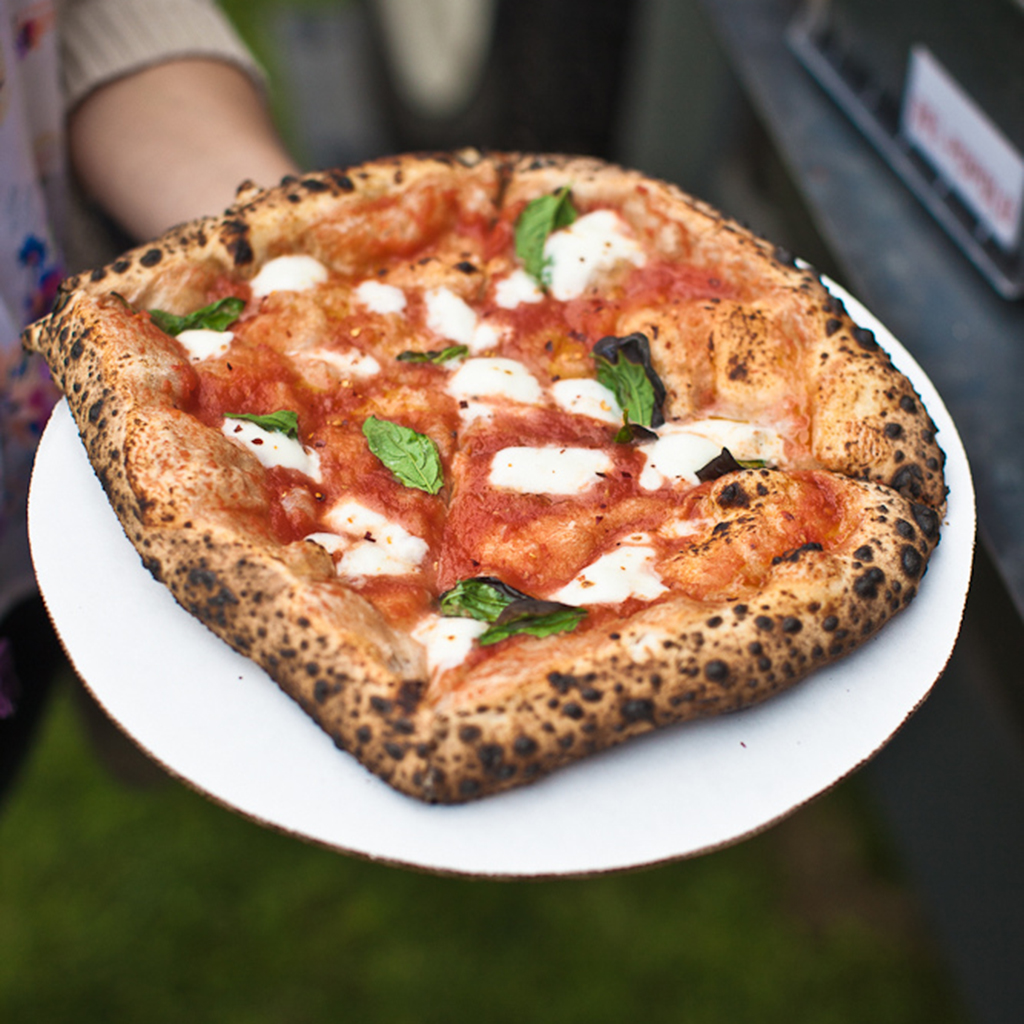 FWX OUTSIDE LANDS FOOD PIZZA