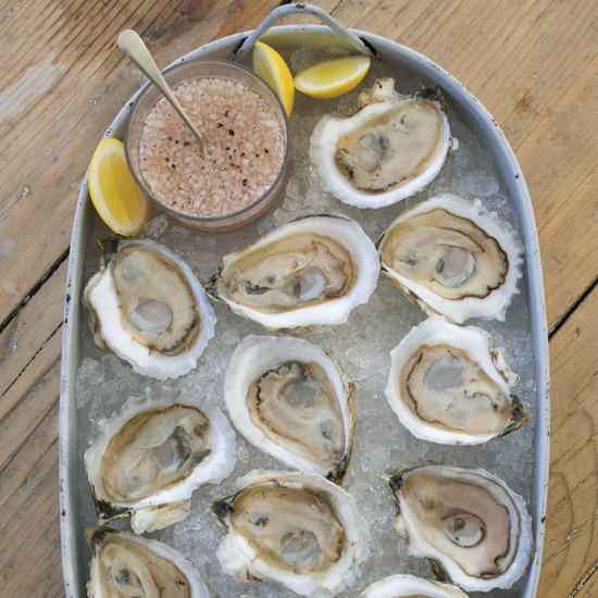 Pair crisp, minerally Muscadet with those raw oysters you're sharing with that hot date. © Michael Turek