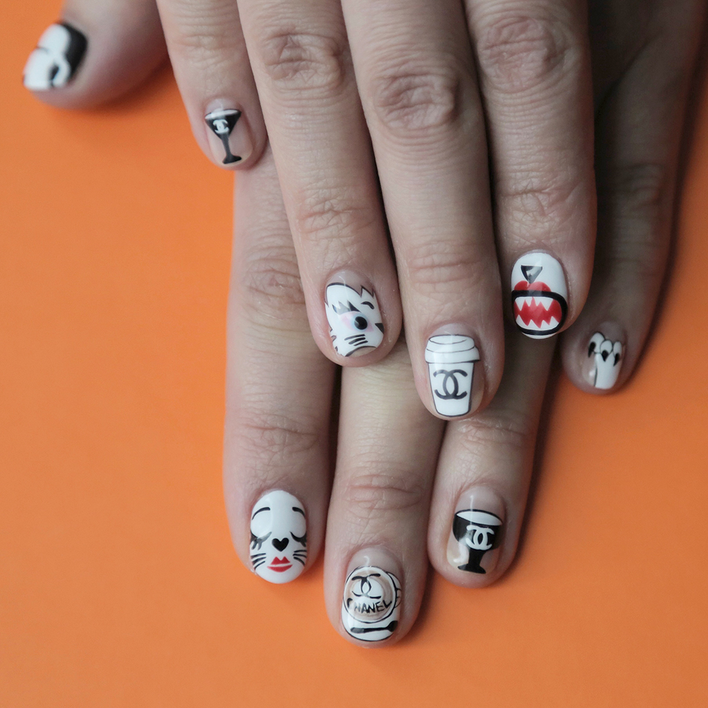 Choupette Lagerfeld Nail Art Is the Best Way to Prepare for Paris ...