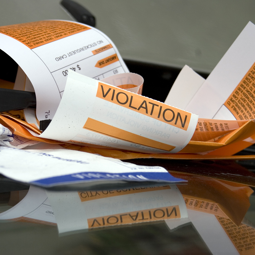 FWX PARKING TICKETS
