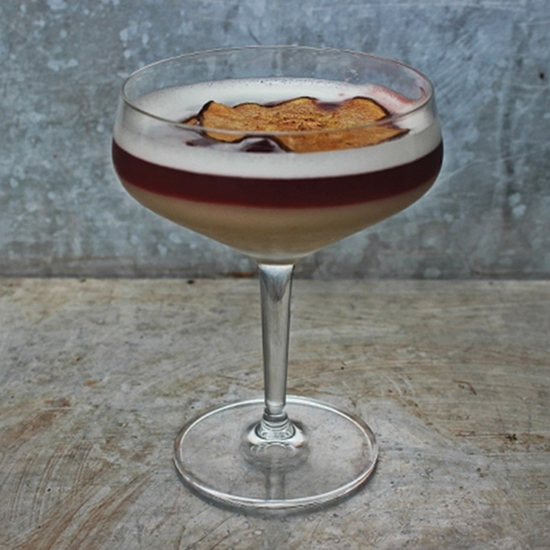 Clove and Pear Red Wine Sour