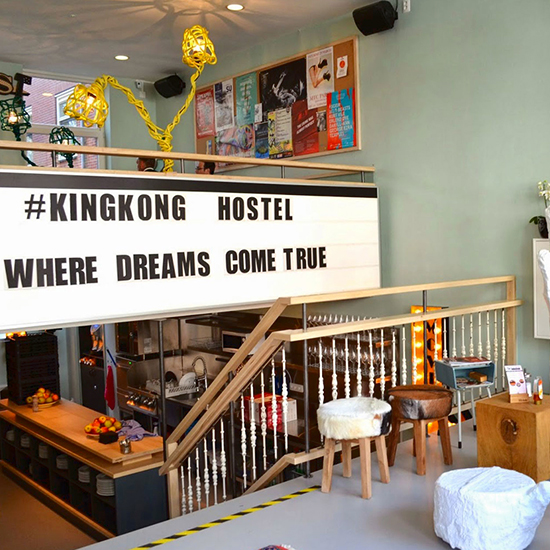 FWX PARTNER TL HOSTELS KING KONG