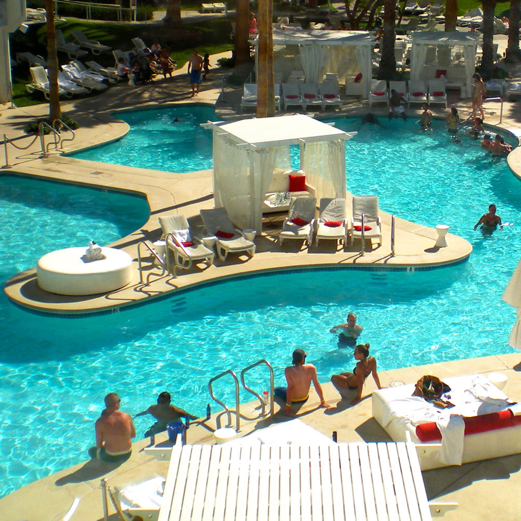 Tropicana Pool in Las Vegas, Nevada