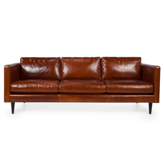 Commit To: A Comfy Leather Sofa