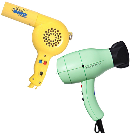 Then: Conair Yellow Bird Blow Dryer