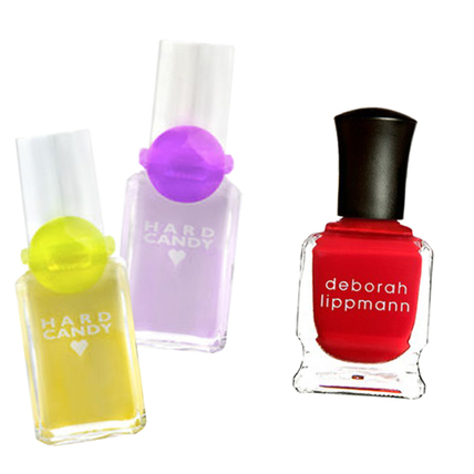 Then: Hard Candy Nail Polish