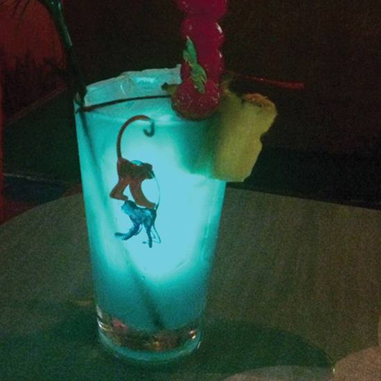 Pang's Punch at Otto's Shrunken Head, New York City