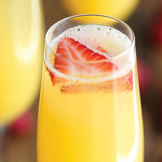 Strawberry Pineapple Mimosa