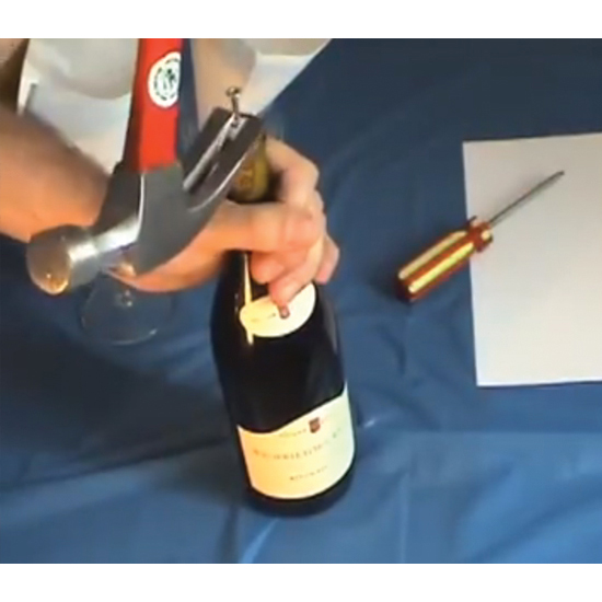 And When There's No Corkscrew…