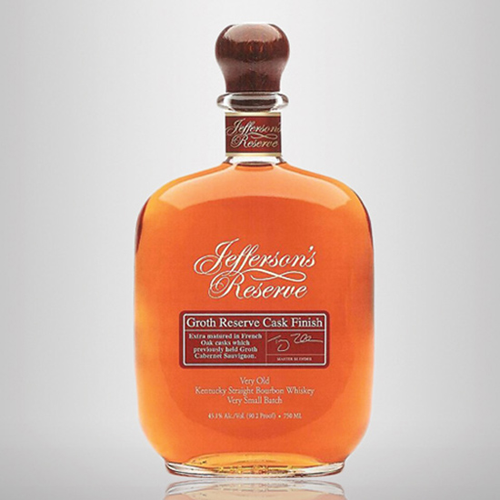 Jefferson's Reserve Groth Reserve Cask Finish ($80)