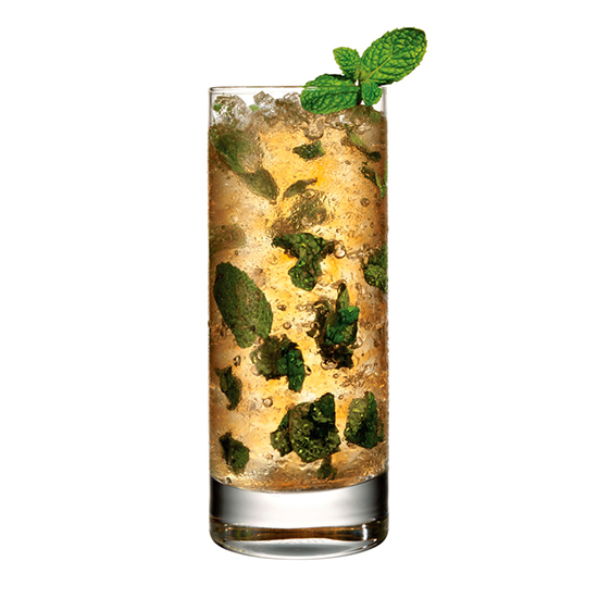 Garden Party: Bulleit Mint Julep