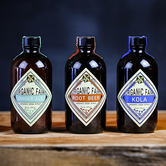 Organic Fair Soda Syrups