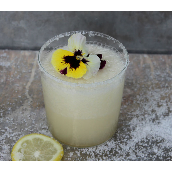 Salted Lemon Shine Margarita