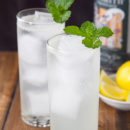Minted South Side Fizz