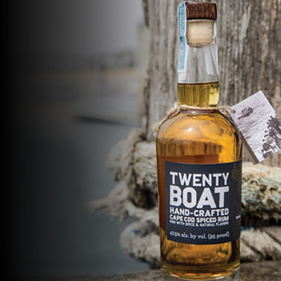Twenty Boat Hand-Crafted Spiced Rum ($45)