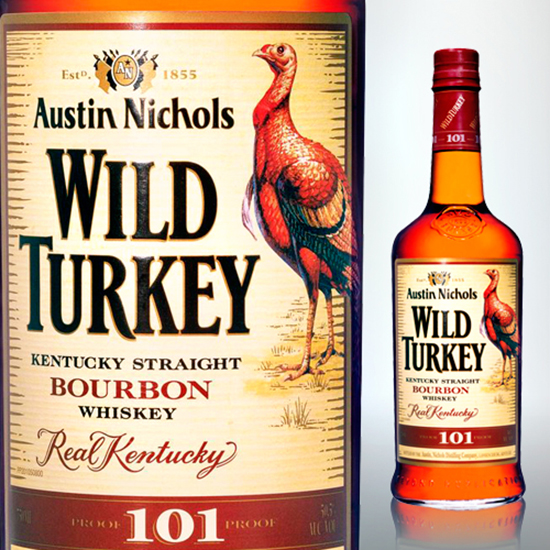 Wild Turkey 101 Proof Bourbon ($22)