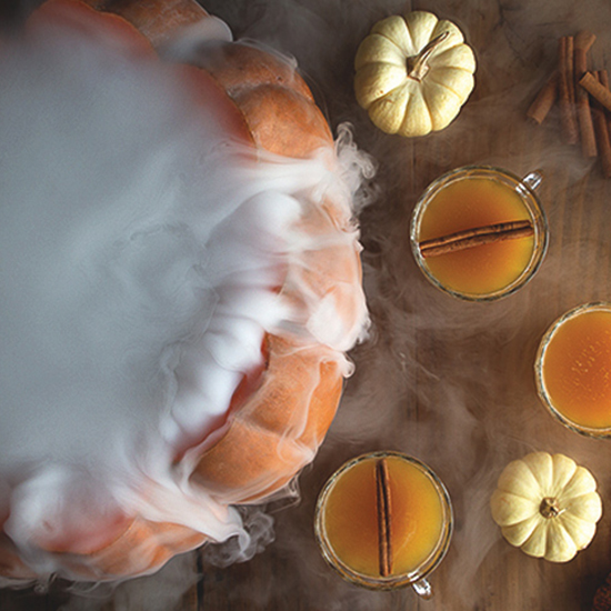 FWX PARTNER LIQUOR PUMPKIN COCKTAILS HALLOWEEN PUNCH
