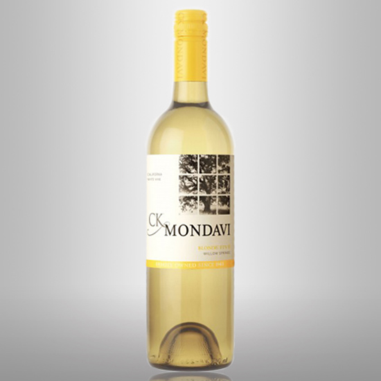 CK Mondavi Family Vineyards Willow Springs Blonde Five