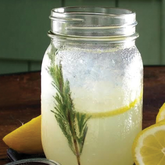 Shaken Lemonade at M Street Kitchen, Santa Monica, California