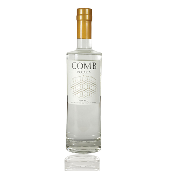Comb Vodka, $32