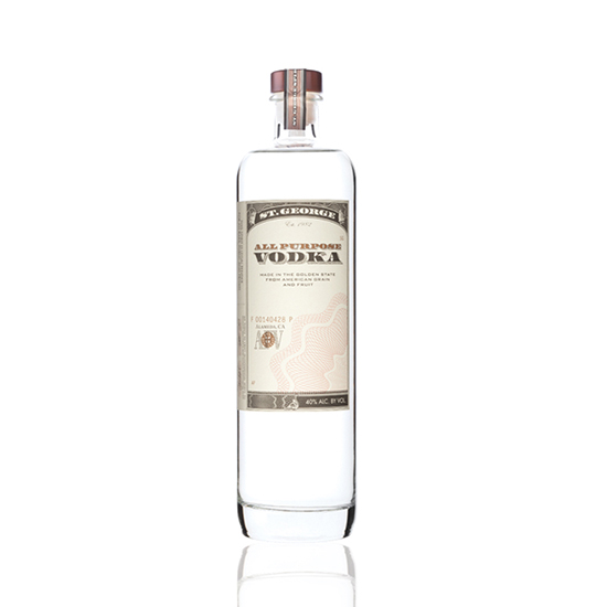 St. George All Purpose Vodka, $30