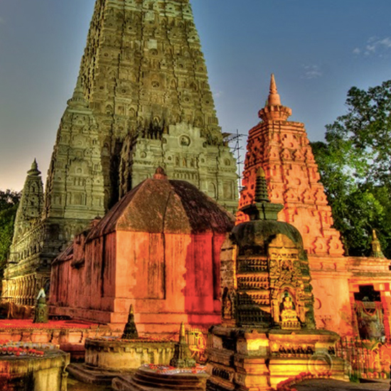 Mahabodhi Tample, India