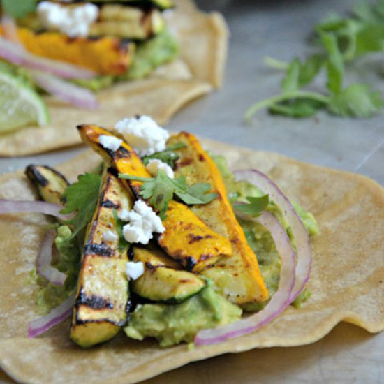 Grilled Squash Tacos