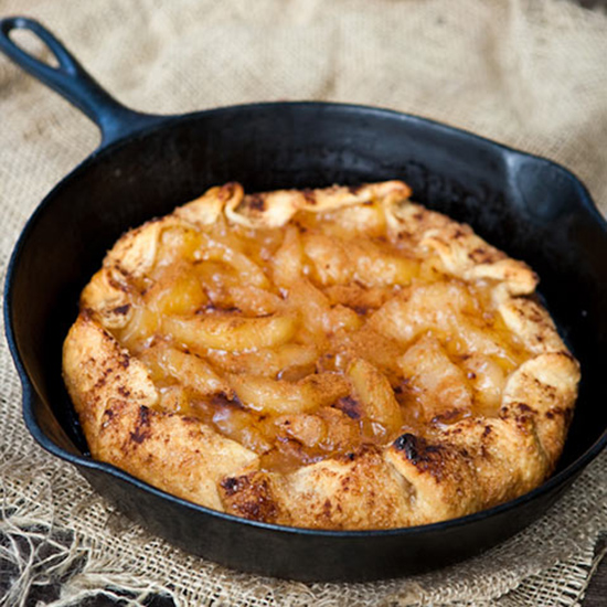 Grilled Apple Galette