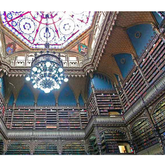 Royal Portuguese Reading Room, Brazil