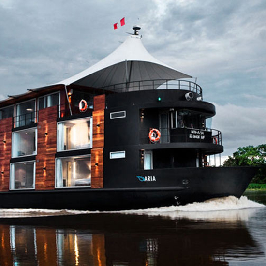 Trek Through the Amazon...on a Luxury Cruise