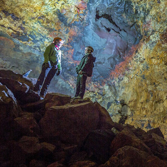 Explore an Icelandic Volcano...in a Cable Lift