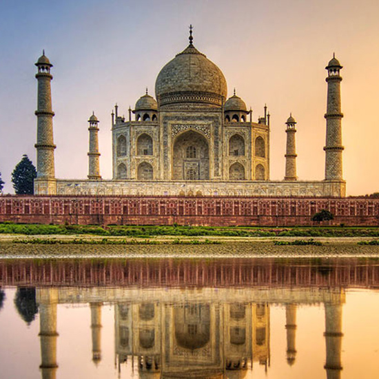 Visit the Taj Mahal in Agra