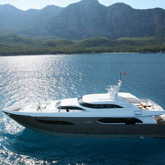 Sail Around the World in a Giant Yacht