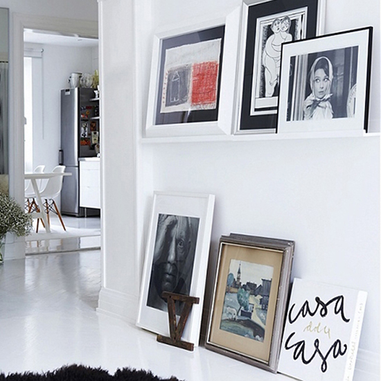 Lean Your Pictures Against the Wall