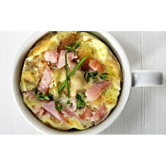 Coffee Mug Frittata (70 seconds)
