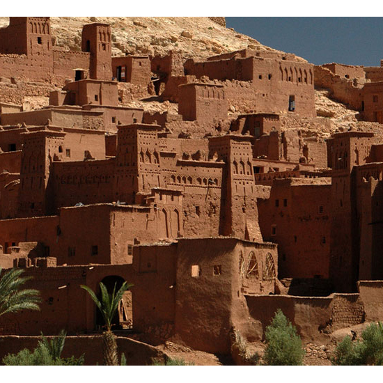 Red Citadel of Aït Benhaddou, Morocco